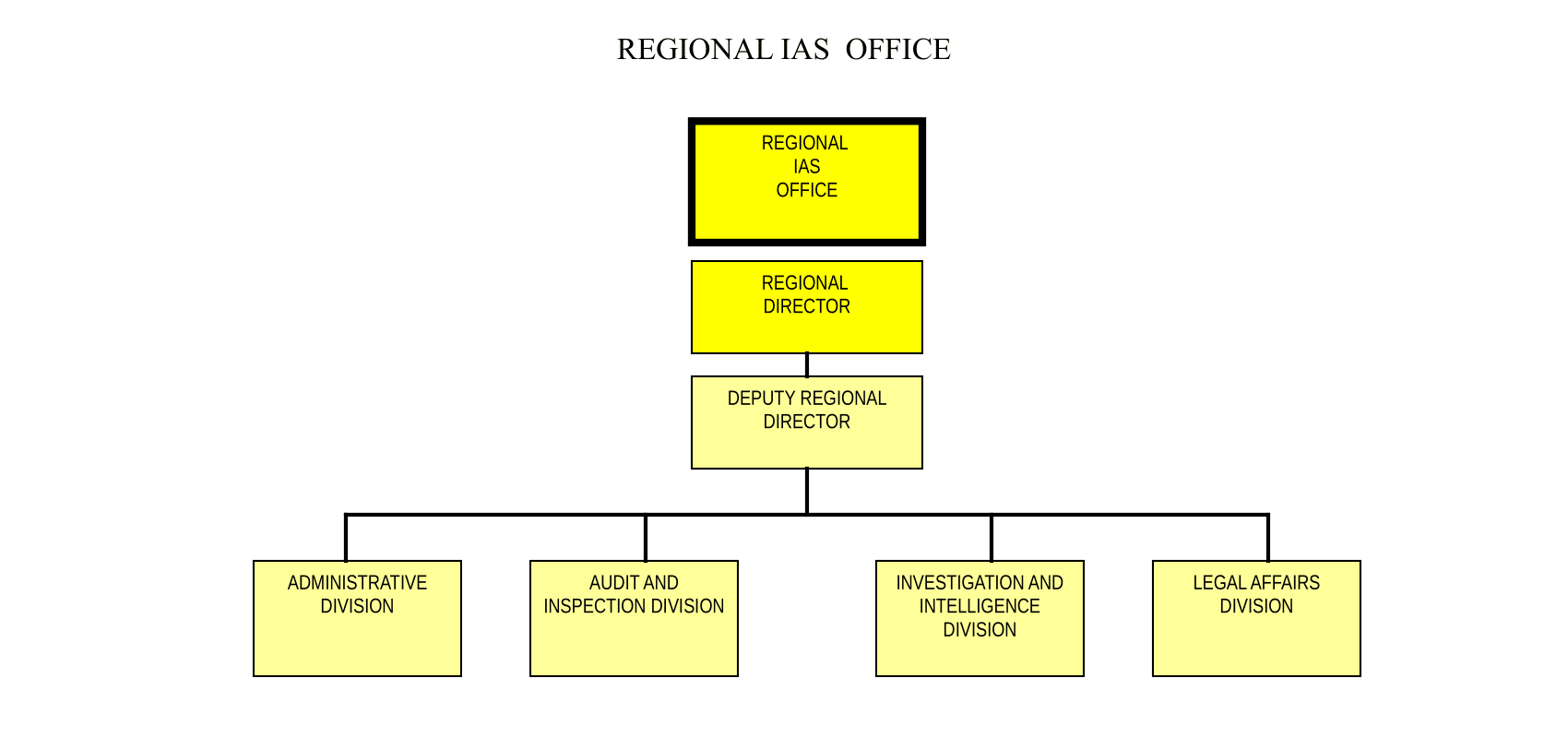 REGIONAL INTERNAL AFFAIRS SERVICE